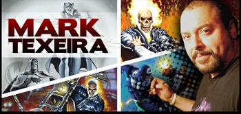 Mark Texeira, <i>Ghost Rider</i> Artist, Joins the Wizard World Comic Con Tour!