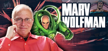 Marv Wolfman, <i>EISNER AWARD HALL OF FAMER</i>, Coming to Richmond & San Jose!