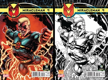 Marvel Comics & Wizard World Announce Exclusive Comic Book Program for 2014 Beginning with Groundbreaking 'Miracleman' Exclusive Variant Interlocking Covers By Neal Adams