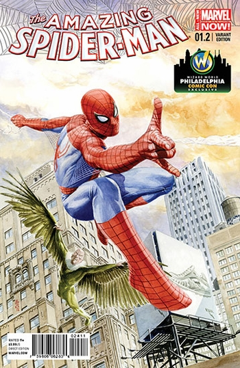 Marvel Comics & Wizard World Reveal �Amazing Spider-Man #1.2� Exclusive Variant Cover By J.G. Jones For Philadelphia Comic Con