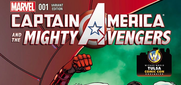 Marvel Comics & Wizard World Reveal �Captain America and the Mighty Avengers #1� Exclusive Variant Cover By Mike Grell For Tulsa Comic Con