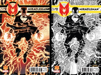 Marvel Comics & Wizard World Reveal �Miracleman #2� Exclusive Variant Interlocking Cover By Neal Adams For New Orleans Comic Con