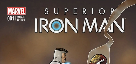 Marvel Comics & Wizard World Reveal �Superior Iron Man #1� Exclusive Variant Cover By Ty Templeton For Reno Comic Con