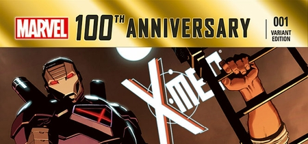 Marvel Comics & Wizard World Reveal �100th Anniversary X-Men Special #1� Exclusive Variant Cover By Jorge Molina For San Antonio Comic Con
