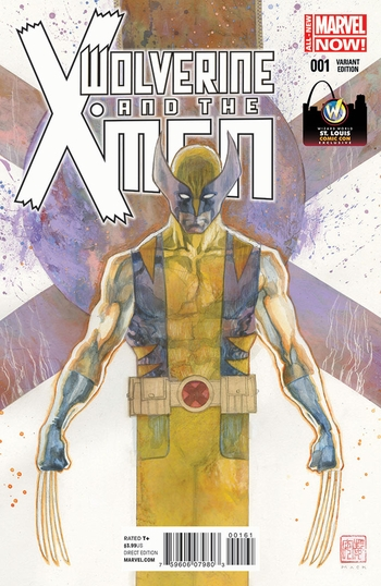 Marvel Comics & Wizard World Reveal �Wolverine And The X-Men #1� Exclusive Variant Cover By David Mack For St. Louis Comic Con