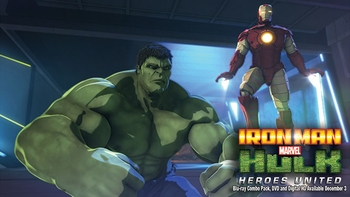 �Marvel�s Iron Man & Hulk: Heroes United� Smashes Onto The Screen at Wizard World Austin Comic Con on Nov. 23