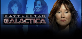 Mary McDonnell, <i>President Laura Roslin</i> from  �Battlestar Galactica� <br>To Appear @ New Orleans Comic Con!