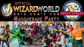 Masquerade Party Lights Up Ohio Comic Con On Saturday Night!