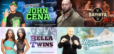 Massive WWE� Presence @ Philadelphia Comic Con Includes WWE� Superstars John Cena� & Batista�, WWE� Hall of Famer Bruno Sammartino� and WWE� Divas The Bella Twins�, To Attend Wizard World June 20-21-22