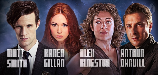 Oh, Doctor! Matt Smith, Karen Gillan, Alex Kingston & Arthur Darvill To Attend Wizard World Comic Con Portland!