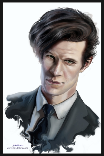<i>Matt Smith</i> Wizard World Comic Con VIP Exclusive Lithograph by Cris Delara