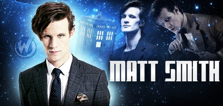Matt Smith, <i>The 11th Doctor</i>, �Doctor Who,� Coming to New Orleans & Portland!