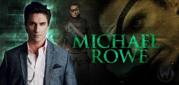 Michael Rowe, Deadshot/Floyd Lawton, �Arrow,� Coming to Cleveland Comic Con!