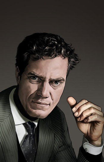 <i>Michael Shannon</i> Chicago Comic Con VIP Exclusive Lithograph by Mike Miller