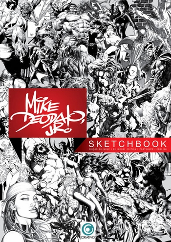 <i>Mike Deodato Jr.</i> Sketchbook Portland Comic Con by Mike Deodato Jr.