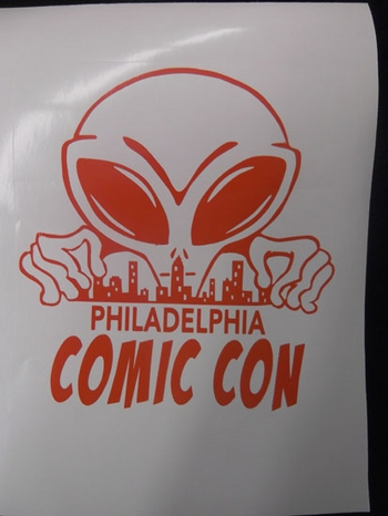 <i>Mike�s Custom Airbrush</i> Decal Philadelphia Comic Con Exclusive T-Shirt