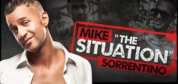 Mike Sorrentino, �The Situation,� <i>The Jersey Shore,</i> Coming to Austin Comic Con!