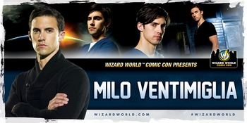 Milo Ventimiglia, <i>Peter Petrelli</i>, �Heroes,� Coming to St. Louis Comic Con!