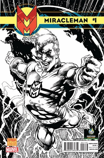 <i>Miracleman #1</i> Portland Comic Con Exclusive Sketch Variant Cover by Neal Adams