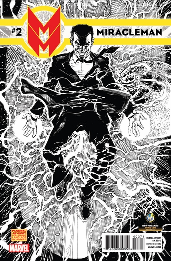 <i>Miracleman #2</i> New Orleans Comic Con Exclusive Sketch Variant Cover by Neal Adams