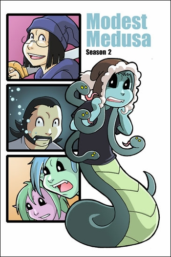 <i>Modest Medusa</i> Season 2 Portland Comic Con Debut by Jake Richmond