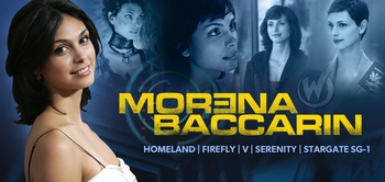 Morena Baccarin, �Firefly,� �Serenity� and �Homeland� Star, Coming to