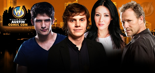 Evan Peters, WWE Phenom The Undertaker�, Katie Cassidy & Rebecca Mader Headline Celebrity Guests @ Wizard World Austin Comic Con, October 2-4