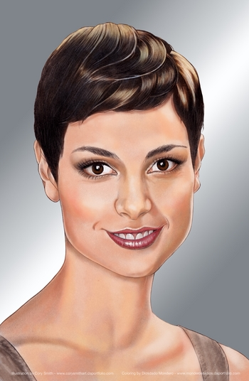<i>Morena Baccarin</i> Portland Comic Con VIP Exclusive Lithograph by Cory Smith