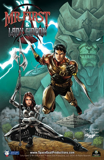 <i>Mr. First & Lady Gideon</i> Wizard World Comic Con VIP Exclusive Lithograph by RB Silva & Rob Lean