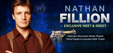 Nathan Fillion Meet & Greet @ Philadelphia Comic Con 2013