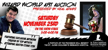 Neal Adams To Conduct Charity Art Auctions @ Wizard World Events Beginning At Austin Comic Con, November 22-24