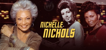 Nichelle Nichols, <i>Uhura</i>, �Star Trek,� Coming to San Antonio Comic Con!