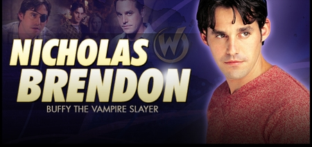 Nicholas Brendon, <i>Xander Harris</i>, from �Buffy� Joins the Wizard World Comic Con Tour!