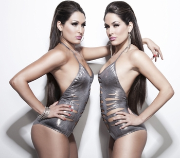 Nicole and Brianna Garcia (f.k.a. The Bella Twins)