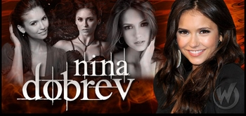 Nina Dobrev, <i>Elena Gilbert</i>, �The Vampire Diaries,� Coming to Chicago Comic Con!