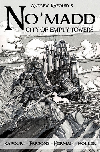 Meet The Creative Team Behind The Exciting New Graphic Novel �No�madd: City of Empty Towers� @ Wizard World Portland Comic Con