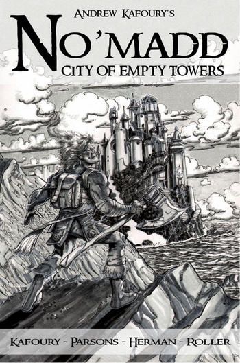 <b><i>No'madd: City of Empty Towers</i> Portland Comic Con Exclusive Graphic Novel by Andrew Kafoury</b>