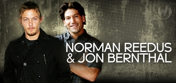 Norman Reedus & Jon Bernthal, <i>Daryl Dixon</i> & <i>Shane Walsh</i>, �The Walking Dead,� Coming to Chicago Comic Con!