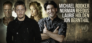 Norman Reedus, Laurie Holden, Jon Bernthal, Michael Rooker of �The Walking Dead� In Wizard World Sacramento Comic Con Lineup!