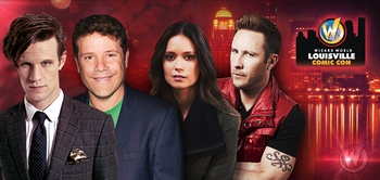 Matt Smith, Karen Gillan, Sean Astin, Summer Glau, WWE� Superstar Randy Orton�, Jason Momoa Headline Celebrity Guests @ Wizard World Louisville Comic Con, March 28-30