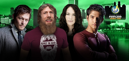 Norman Reedus, Stephen Amell, Evan Peters, Tyler Posey Among Top Celebrities Scheduled To Attend Wizard World Portland Comic Con, January 23-24-25, 2015