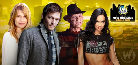 Norman Reedus, Steven Yeun, Stan Lee, Robert Englund, John Ratzenberger Headline Celebrity Guests @ Wizard World New Orleans Comic Con, February 7-9