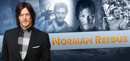 Norman Reedus, <i>Darryl Dixon</i>, �The Walking Dead,� Coming to Chicago & Fort Lauderdale!