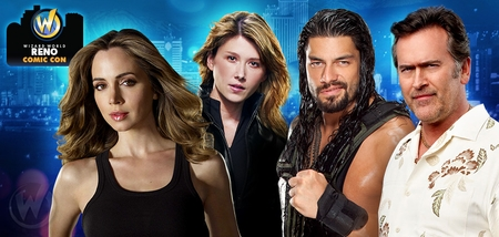 Norman Reedus, William Shatner, Jewel Staite, Bruce Campbell Headline Celebrity Guests @ Inaugural Wizard World Reno Comic Con, November 21-23