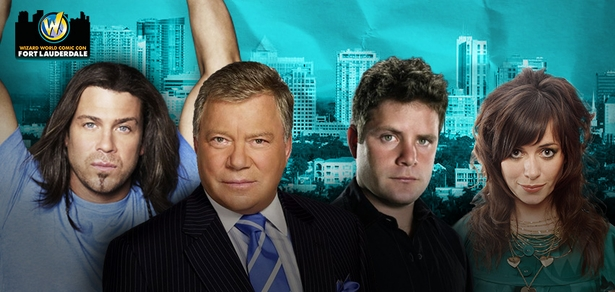William Shatner, Sean Astin, Among Top Celebrities Scheduled To Attend Inaugural Wizard World Comic Con Fort Lauderdale, October 2-4