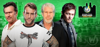 Norman Reedus, William Shatner, Stan Lee, WWE� Superstar CM Punk� Among Top Celebrity Guests @ Wizard World Portland Comic Con, January 24-26