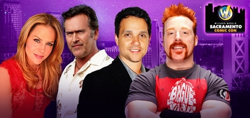Norman Reedus, William Shatner, Stan Lee, WWE� Superstar Sheamus� Among Top Celebrity Guests At Inaugural Wizard World Sacramento Comic Con, March 7-9