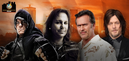Norman Reedus, WWE� Superstar Undertaker�, Vince Neal, Bruce Campbell Among Top Celebrities Scheduled To Attend Wizard World Comic Con Tulsa, October 23-25