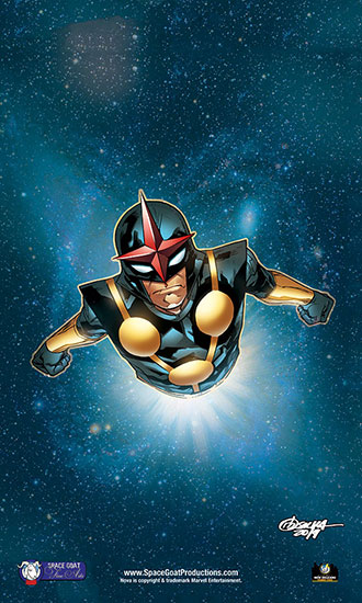 <i>NOVA</i> New Orleans Comic Con Exclusive Lithograph by RB Silva (Penciled)