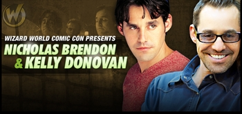 Oh, Brother! Nicholas Brendon, Kelly Donovan Join the Wizard World Tour!